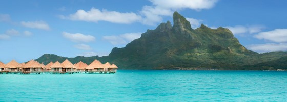 The St. Regis Bora Bora Resort Overwater Bungalows